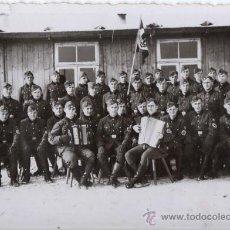 Militaria: SOLDADOS DE LA RAD - FOTOGRAFIA ORIGINAL DE LA SEGUNDA GUERRA MUNDIAL. Lote 31965494