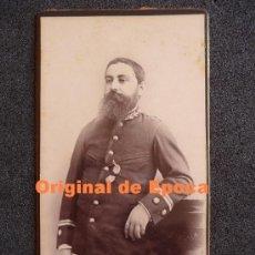 Militaria: (JX-153)FOTOGRAFIA DE TENIENTE CORONEL DE SANIDAD REALIZADA EN MANILA(FILIPINAS). Lote 31978920