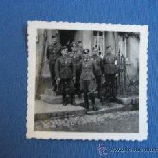 Militaria: FOTO ORIGINAL ALEMANIA SOLDADOS WW2 III REICH. Lote 32177297