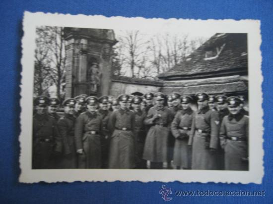 FOTO ORIGINAL ALEMANIA SOLDADOS WW2 III REICH (Militar - Fotografía Militar - II Guerra Mundial)