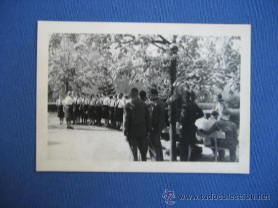 FOTO ORIGINAL ALEMANIA CHICAS BDM WW2 III REICH (Militar - Fotografía Militar - II Guerra Mundial)