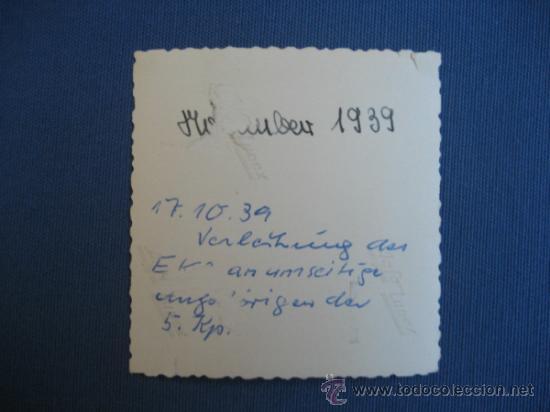 Militaria: FOTO ORIGINAL ALEMANIA SOLDADOS WW2 III REICH - Foto 2 - 32177297