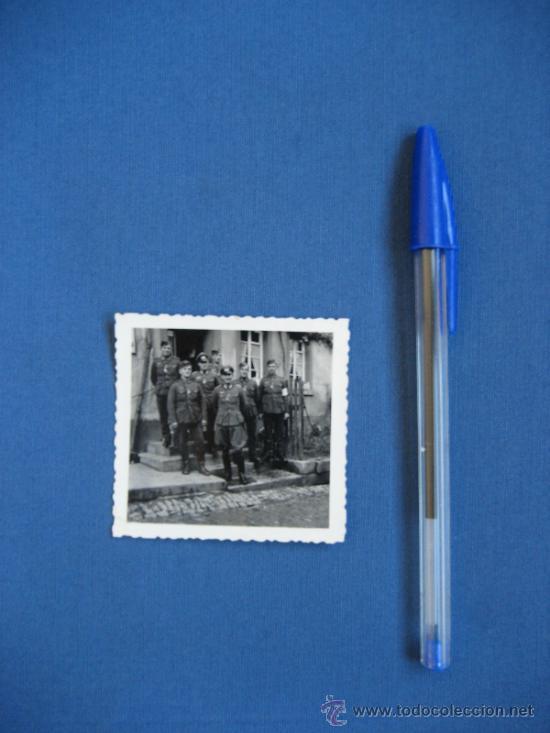 Militaria: FOTO ORIGINAL ALEMANIA SOLDADOS WW2 III REICH - Foto 3 - 32177297