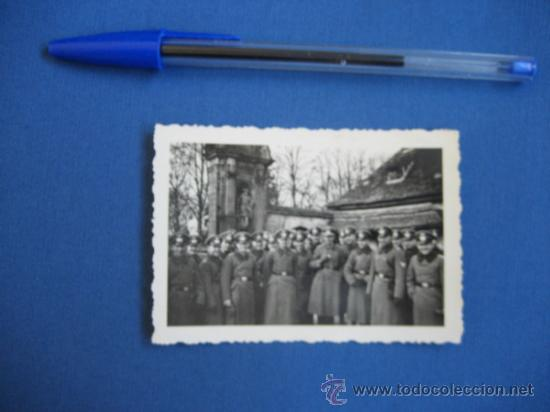 Militaria: FOTO ORIGINAL ALEMANIA SOLDADOS WW2 III REICH - Foto 2 - 32177315