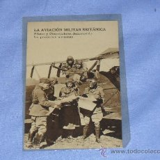 Militaria: POSTAL DELA AVIACION MILITAR BRITANICA. Lote 32203804