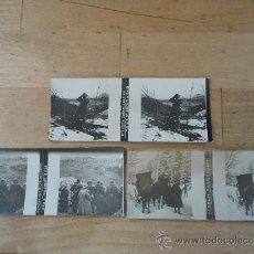 Militaria: 3 FOTOGRAFIAS ESTEREOSCOPICAS DE LA PRIMERA GUERRA MUNDIAL, ORIGINALES.. Lote 32266267