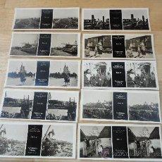 Militaria: 17 FOTOGRAFIAS ESTEREOSCOPICAS DE LA PRIMERA GUERRA MUNDIAL, FELDSTEREO VERLAG. DE LAS SERIES C Y D. Lote 32267349