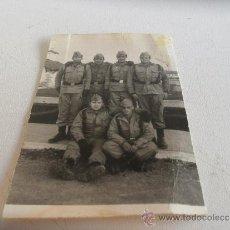 Militaria: FOTO MILITAR SOLDADOS. Lote 32478872