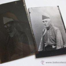 Militaria - GUERRA CIVIL: NEGATIVO DE MILICIANO DE UGT CON SU NOMBRE Y FOTO POSITIVADA DE LA MISMA .... - 32506890