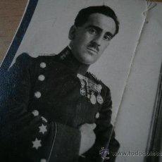Militaria: FOTOGRAFÍA CAPITÁN GUARDIA CIVIL. ALFONSO XIII. Lote 32596213
