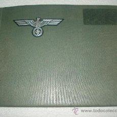 Militaria: FOTOS DEL TERCER REICH (SEGUNDA GUERRA MUNDIAL) EN ALBUM MILITAR ALEMÁN DE ÉPOCA. Lote 32596581