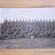 Militaria: FOTOGRAFIA MILITAR BATALLON DE ARTILLERIA. Lote 32862203