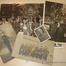 Militaria: CONJUNTO DE 5 FOTOS DEL GENERAL DE DIVISIÓN D. ELISEO ALVAREZ-ARENAS, PADRE DEL MINISTRO ALVAREZ-ARE. Lote 33220469