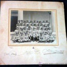 Militaria: FOTOGRAFÍA ACADEMIA DE INFANTERÍA. 1927. FORMATO 32,5 X 31 CM'S. Lote 33425099