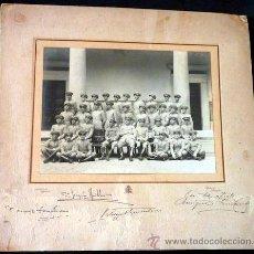Militaria: FOTOGRAFÍA ACADEMIA DE INFANTERÍA. 1927. FORMATO 33 X 31 CM'S. Lote 33425263