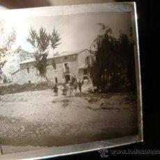 Militaria: IMPORTANTE NEGATIVO HISTORICO CRISTAL OFICIALES MILITARES GUARDIA CIVIL, GUERRA CIVIL? ALCOY, C.1936. Lote 33454714