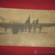 Militaria: FOTOGRAFIA MILITAR DE GRAN TAMAÑO 58X34 CM - SOBRE CARTON - GRAL QUEIPO DE LLANO. Lote 33472363