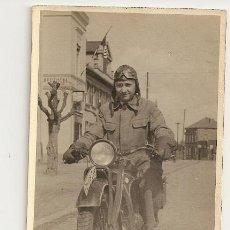 Militaria: FOTO POSTAL SEGUNDA GUERRA MUNDIAL. Lote 33558170