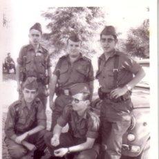 Militaria: FOTOGRAFIA MILITAR - GRUPO DE MILITARES EJERCITO DE TIERRA. Lote 33570222