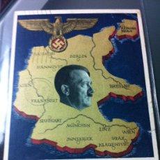 Militaria: FOTO POSTAL III REICH CIRCULADA 1938. Lote 33659546