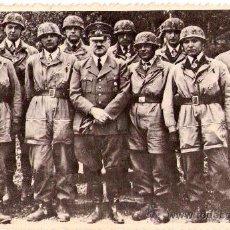 Militaria: II GUERRA MUNDIAL,FOTO ORIGINAL ADOLF HITLER Y PARACAIDISTAS,ARCHIVO RUSO.III REICH,CRUZ DE HIERRO. Lote 33675761