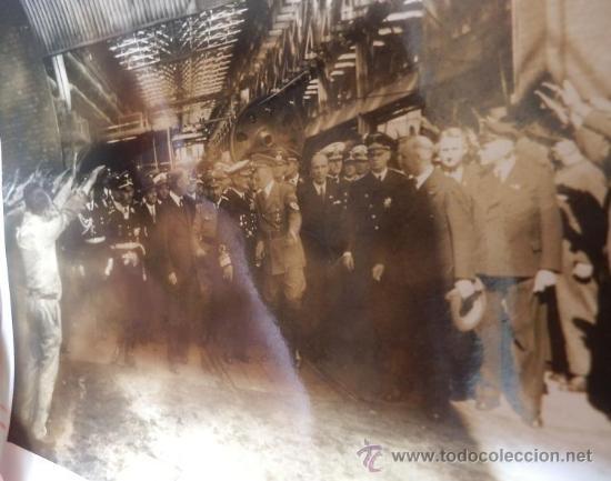 FOTO CON ADOLF HITLER, LIDERES SS,.... (Militar - Fotografía Militar - II Guerra Mundial)