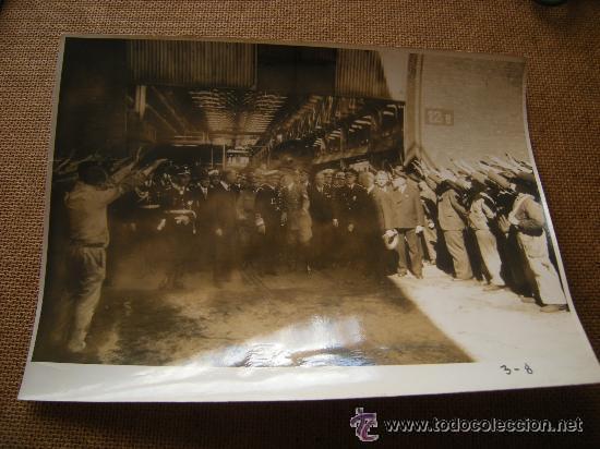 Militaria: FOTO CON ADOLF HITLER, LIDERES SS,.... - Foto 4 - 32858302