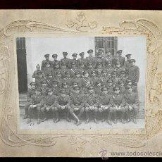 Militaria: FOTOGRAFÍA DE UNOS MILITARES. DEL AÑO 1936. GUERRA CIVIL. Lote 33913104