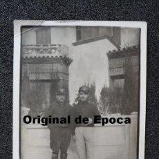Militaria: (JX-389)FOTOGRAFIA DE DOS SOLDADOS DEL EJERCITO POPULAR CATALAN-GUERRA CIVIL. Lote 33949616