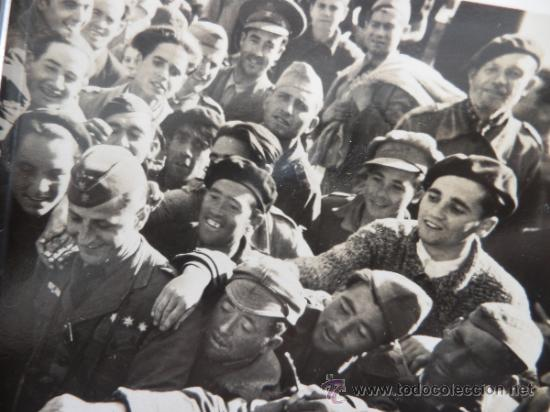 IMPRESIONANTE FOTO SOLDADO LEGIÓN CONDOR EN ESPAÑA GUERRA CIVIL (Militar - Fotografía Militar - Guerra Civil Española)