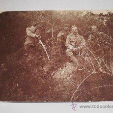 Militaria: ANTIGUA FOTOGRAFIA MILITAR, EPOCA DE ALFONSO XIII. Lote 34123726