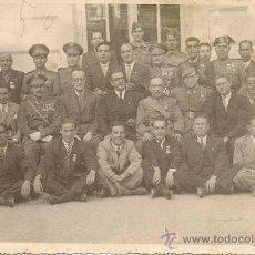 Militaria: MILITARES - SEÑORES CONDECORADOS - FOTOGRAFIA ANTIGUA GRANDE. Lote 34144610