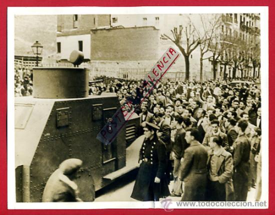FOTO GUERRA CIVIL, FOTOGRAFIA 1936 , MADRID CAMINO MILITAR , ORIGINAL, F110 (Militar - Fotografía Militar - Guerra Civil Española)