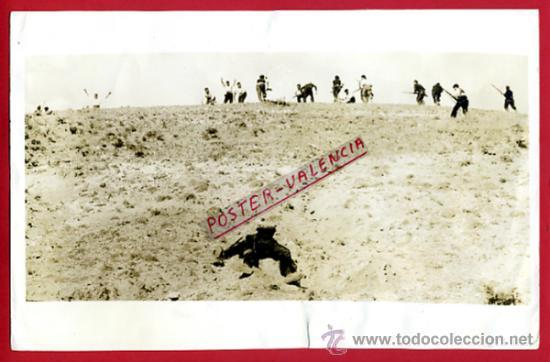 FOTO GUERRA CIVIL, FOTOGRAFIA 4-9-1936 , ESCENA GUERRA EN SOMOSIERRA MADRID , ORIGINAL, F115 (Militar - Fotografía Militar - Guerra Civil Española)