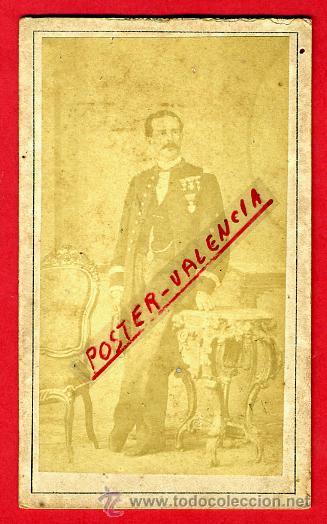 FOTOGRAFIA MILITAR, FOTO ALBUMINA TARJETA VISITA 1871 , CUBA , F108 (Militar - Fotografía Militar - Otros)