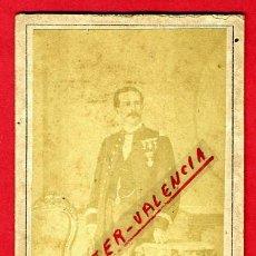 Militaria: FOTOGRAFIA MILITAR, FOTO ALBUMINA TARJETA VISITA 1871 , CUBA , F108. Lote 34197991