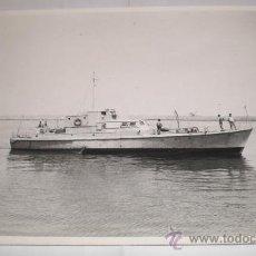 Militaria: ANTIGUA FOTOGRAFIA, PATRULLERO V-21, GRAN TAMAÑO (24 CM X 18 CM). Lote 34307701