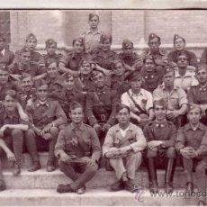 Militaria: FOTOGRAFIA MILITAR - GRUPO DE SOLDADOS - OFICIALES Y SUBOFICIALES. Lote 34346170
