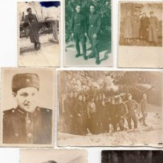 Militaria: LOTE DE SIETE FOTOS DE SOLDADOS SOVIÉTICOS - CLC. Lote 34397311