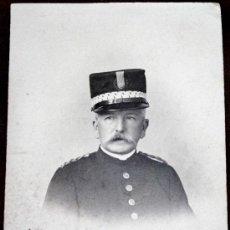 Militaria: FOTO DE GENERAL DE ALFONSO XII?. Lote 34548973