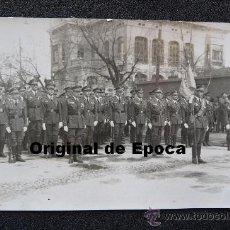 Militaria: (JX-453)FOTOGRAFIA DE OFICIALES-ACADEMIA DE TRANSFORMACIÓN DE OFICIALES DE AVIACIÓN EN LEON. Lote 34570815