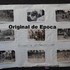 Militaria: (JX-459)LOTE DE FOTOGRAFIAS DE LAS POSICIONES DE EL PLANTIO AÑO 1938-GUERRA CIVIL. Lote 34571898