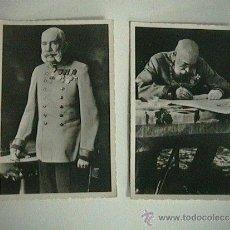 Militaria: FOTOGRAFÍAS ANTIGUAS UNIFORME MILITAR EMPERADOR FRANCISCO JOSÉ I. Lote 34601604