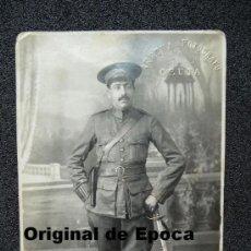 Militaria: (JAI-43)FOTOGRAFIA DE BRIGADA DE INFANTERIA REALIZADA EN CEUTA AÑO 1921. Lote 34813604