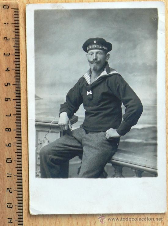 ARMADA ALEMANA. FOTO MARINERO . I GUERRA MUNDIAL (Militar - Fotografía Militar - I Guerra Mundial)