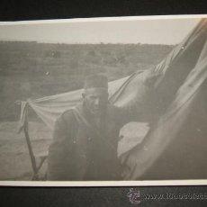 Militaria: ALGECIRAS CADIZ GUERRA CIVIL MORO REGULAR POR SOLDADO LEGION CONDOR . Lote 35178844