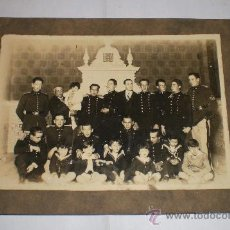 Militaria: ANTIGUA FOTOGRAFIA MILITAR, EPOCA DE ALFONSO XIII. Lote 35244595