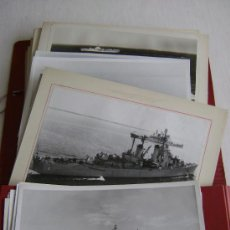 Militaria: COLECCION DE CINCUENTA Y OCHO FOTOGRAFIAS DE BARCOS DE GUERRA ESTADOUNIDENSES.M535. Lote 35362616