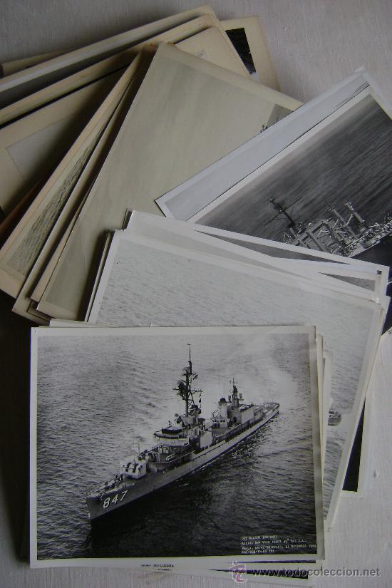 Militaria: COLECCION DE CINCUENTA Y OCHO FOTOGRAFIAS DE BARCOS DE GUERRA ESTADOUNIDENSES.M535 - Foto 14 - 35362616