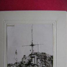 Militaria: TREINTA FOTOGRAFIAS DE BARCOS DE GUERRA ALEMANES,JAPONESES,AMERICANOS Y OTROS.M528. Lote 35364901